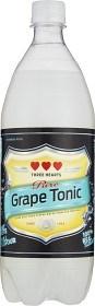 Bild på Three Hearts Grape Tonic PET 1 L inkl. pant