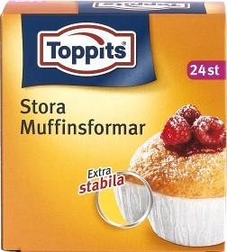 Bild på Toppits Stora Muffinsformar 24 p