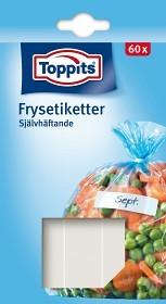 Bild på Toppits Frysetiketter Vita 60 p