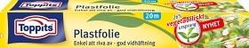 Bild på Toppits Plastfolie 26% Vegetabiliskt Ursprung 20 m