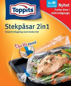 Bild på Toppits Stekpåsar 2,5 kg 8 p