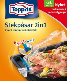 Bild på Toppits Stekpåse 5 kg 5 p