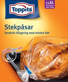 Bild på Toppits Stekpåsar XL 10 kg 2 p