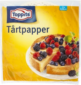 Bild på Toppits Tårtpapper 15 p