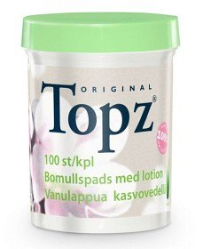 Bild på Topz Make-Up Remover Pads med lotion 100 st