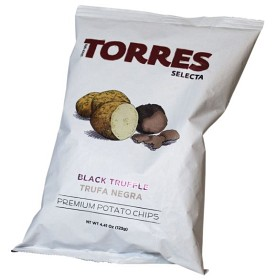 Bild på Torres Chips Svart Tryffel 125 g