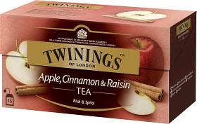 Bild på Twinings Te Äpple, Kanel & Russin 25 p