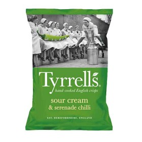 Bild på Tyrrells Chips Sour Cream & Chilli 150 g