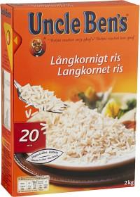 Bild på Uncle Ben's Långkornigt Ris 2 kg