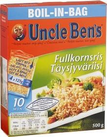 Bild på Uncle Ben's Fullkornsris boil-in-bag 500 g