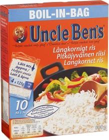 Bild på Uncle Ben's Långkornigt Ris boil-in-bag 500 g
