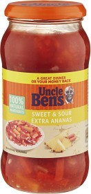Bild på Uncle Ben's Sweet & Sour Extra Ananas 450 g