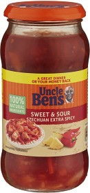 Bild på Uncle Ben's Sweet & Sour Szechuan Extra Spicy 450 g