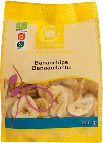 Bild på Urtekram Bananchips 200 g