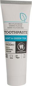 Bild på Urtekram Mint & Green Tea tandkräm 75 ml
