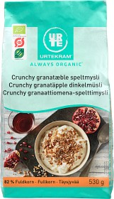 Bild på Urtekram Crunchy Granatäpple Dinkelmüsli 530 g