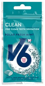 Bild på V6 Clean Polar Fresh Mint 28 g