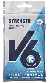 Bild på V6 Strength Sweet Menthol 30 g