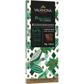 Bild på Valrhona Chokladkaka Manjari 64% 70 g