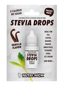 Bild på Nutri-Nick Stevia Drops Pocket Pack Vanilj 10 ml