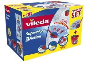 Bild på Vileda SuperMocio 3Action Komplett Moppset 1 st