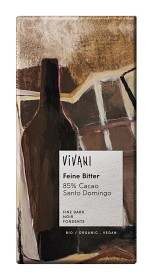 Bild på Vivani Mörk Choklad 85% 100 g