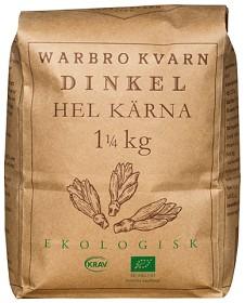 Bild på Warbro Kvarn Dinkel Hel Kärna 1,25 kg