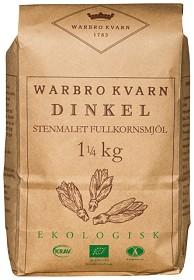 Bild på Warbro Kvarn Dinkel Stenmalet Fullkornsmjöl 1,25 kg