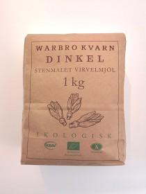 Bild på Warbro Kvarn Dinkel Stenmalet Virvelmjöl 1 kg