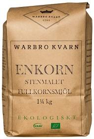 Bild på Warbro Kvarn Enkorn Stenmalet Fullkornsmjöl 1,25 kg