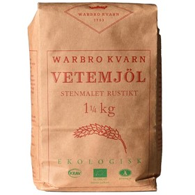 Bild på Warbro Kvarn Stenmalet Vetemjöl Rustikt 1,25 kg