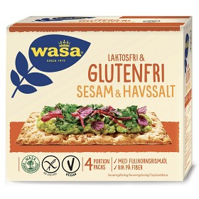 Bild på Wasa Glutenfri Sesam & Havssalt 240 g