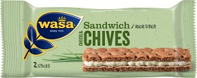 Bild på Wasa Sandwich Cheese & Chives 37 g
