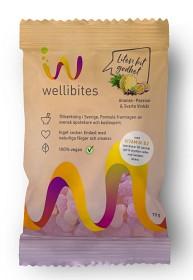 Bild på Wellibites Ananas-Passion & Svarta vinbär 70 g