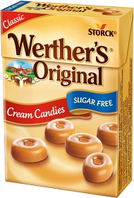 Bild på Werther's Original Cream Candies Sugar Free 42 g