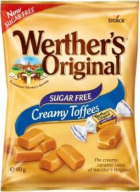 Bild på Werther's Original Creamy Toffees Sugar Free 80 g