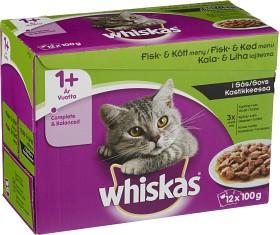 Bild på Whiskas 1+ Fisk/Kött i Sås 12-pack