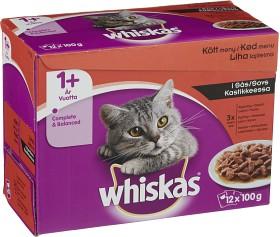 Bild på Whiskas 1+ Köttmeny i Sås 12-pack