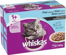 Bild på Whiskas 1+ Fiskmeny i Sås 12-pack