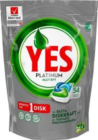 Bild på YES Maskindiskmedel Platinum Green 54 st