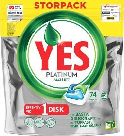 Bild på YES Maskindiskmedel Platinum Green 74 st