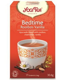 Bild på Yogi Tea Bedtime Rooibos Vanilla 17 tepåsar