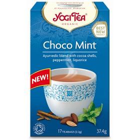 Bild på Yogi Tea Choco Mint 17 tepåsar KRAV