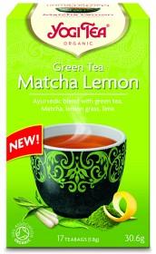 Bild på Yogi Tea Green Tea Matcha Lemon 17 tepåsar