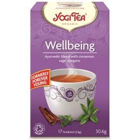 Bild på YogiTea Wellbeing 17 tepåsar