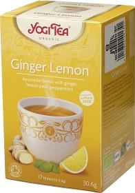 Bild på YogiTea Ginger Lemon 17 tepåsar