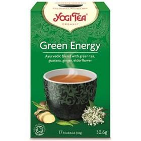 Bild på YogiTea Green Energy 17 tepåsar
