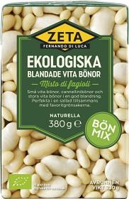 Bild på Zeta Blandade Vita Bönor 380 g