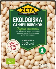 Bild på Zeta Cannellinibönor 380 g