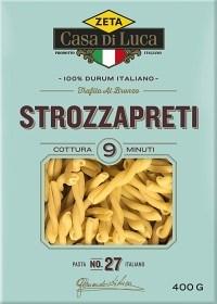 Bild på Zeta Casa Di Luca Pasta Strozzapreti 400 g